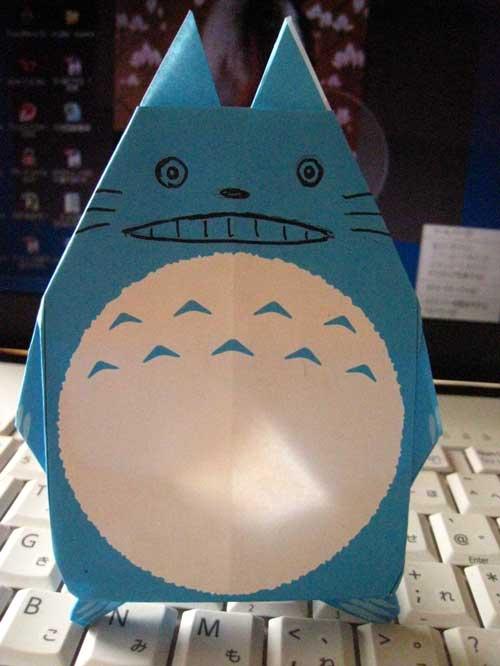 クリスマス 折り紙 折り紙 トトロ : modespace.blog.so-net.ne.jp